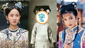 延禧攻略思婉格格和碩和婉公主還珠格格小燕子 翻攝微博