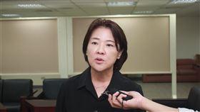 親民黨台北市議員黃珊珊。記者李依璇攝影