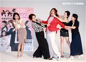 舞台劇我的大老婆曾國城、許瑋甯、王琄、姚坤君、范乙霏 記者邱榮吉攝影