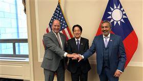 美議員推特PO與賴清德合照 大讚台灣是「美國強健夥伴」 眾議院外交委員會亞太小組共和黨首席議員約霍(Ted Yoho)Twitter