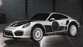 ▲改裝電動模組的Porsche 911 Turbo S。(圖/翻攝網站)