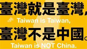 時代力量呼籲國際社會接納台灣。(圖/翻攝自時代力量臉書)