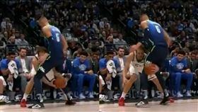 NBA/極致羞辱!波神慘遭花式戲弄 NBA,達拉斯獨行俠,Kristaps Porzingis,猶他爵士,Bojan Bogdanovic 翻攝自YouTube