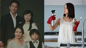 《寄生上流》中富媽媽曹如晶,在南韓有「第一豔星」之稱。(圖/翻攝自曹如晶IG)