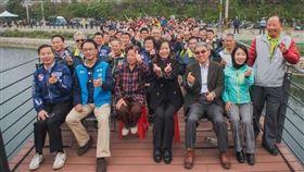 投入1.7億 何姓溪滯洪池完工啟用 槺榔社區水患問題一次解決(圖/新竹市政府)