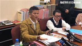 三發地產董座鍾俊榮出面指控,妻子聯手設局讓他住進精神病院(楊忠翰攝)