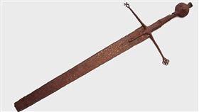 拍賣,古劍,天價,英國,車庫,生鏽,歷史,蘇格蘭,傭兵,收藏, 圖/翻攝自Hutchinson Scott
