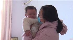 河南,武漢,女嬰,肺炎(翻攝自微博)