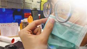 武漢肺炎,戴口罩,感染,長安醫院,胸腔科,姚智偉,醫療口罩 圖/長安醫院提供