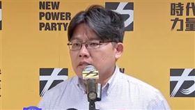 ▲時代力量主席邱顯智召開記者會(圖/新聞台)