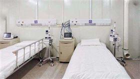 解放軍已進駐!火神山醫院內部曝光 網一看驚呆:根本監獄(圖/翻攝自PTT)