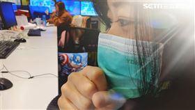 感冒,咳嗽,流鼻水,戴口罩 圖/示意圖,資料照