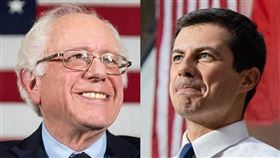 要獲得民主黨總統提名,參選人必須獲得3979張黨代表票過半的1990張。根據目前統計,印第安納州南本德市前市長布塔朱吉(右)以22張黨代表票,暫時領先排名第二的佛蒙特州聯邦參議員桑德斯(左)的21票。
