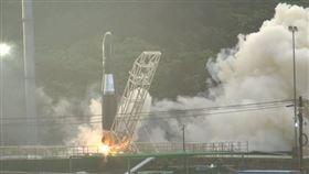 台灣第一枚國人自製火箭「飛鼠一號」試射未成功 記者王浩原攝影