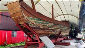 首艘橫渡太平洋木造帆船自由中國號65年前創下台灣第一艘木造帆船橫渡太平洋的「自由中國號」(圖),近期將移至國立台灣海洋大學校園,供民眾參觀。(海洋大學提供)中央社記者王朝鈺傳真 109年2月13日