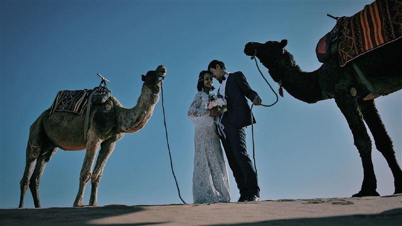 張勛傑宣布閃婚她 超唯美婚紗曝光