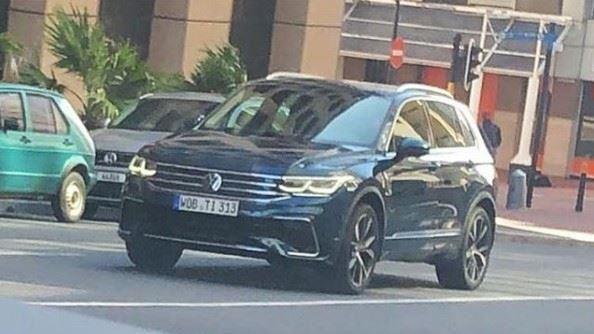 福斯休旅Tiguan小改款正面曝光 日內瓦車展將現身