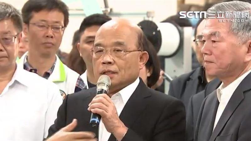 蘇貞昌拍板週四「防疫條例」送出政院