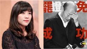黃捷、韓國瑜(組合圖/記者林士傑攝影、翻攝自臉書)