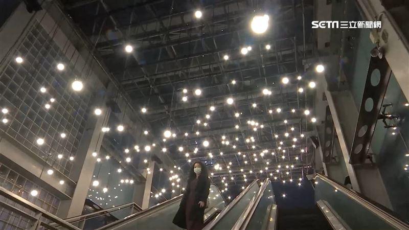 都市中找回記憶 線性光束串招牌重現中華商場
