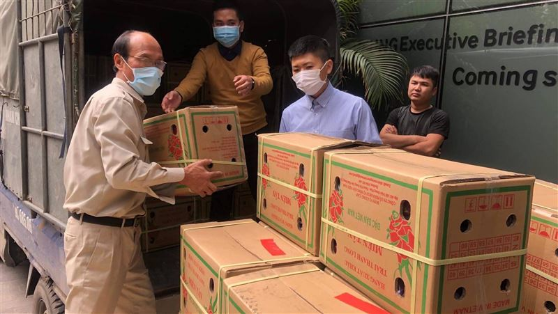 武漢肺炎/越南水果因疫情出口不順 駐越處採購挺農民