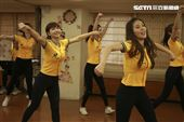 中信兄弟啦啦隊passion sisters春訓採訪。(圖/記者林士傑攝影)