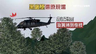 黑鷹失事報告出爐 2因素害墜地翻滾