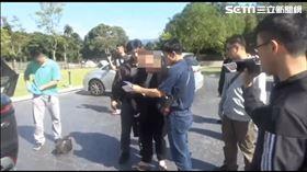 林孝道在花蓮被逮捕 刑事局提供