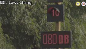 孟買人狂按喇叭太吵…警察放大絕 超過85分貝紅燈重倒數 圖/翻攝自B.C.&Lowy Youtube