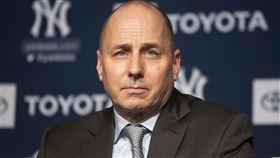 洋基總經理Brian Cashman。(圖/美聯社)