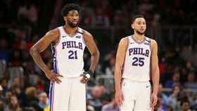NBA/恩比德:我要逼西蒙斯投籃 NBA,費城七六人,Joel Embiid,Ben Simmons,全明星賽 翻攝自推特