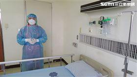 武漢肺炎,COVID-19,負壓隔離病房,衛生福利部,彰化醫院,確診,隔離 圖/翻攝自衛生福利部彰化醫院臉書