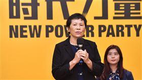 時代力量公布不分區提名名單  陳椒華列第一時代力量13日公布2020不分區立委提名名單,排名次序第一的陳椒華(左)投入環保運動20多年,接受徵召投入立委選舉。中央社記者林俊耀攝  108年11月13日
