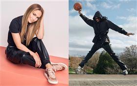 Coach代言人珍妮佛羅培茲(Jennifer Lopez)及麥可B喬丹(Michael B. Jordan)為全新CitySole運動鞋款系列拍攝形象照。(圖/品牌提供)