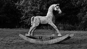 木驢,木馬。(圖/Pixabay)