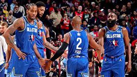 NBA明星賽。(圖/翻攝自推特)