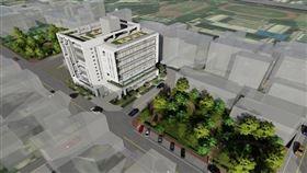 新竹縣府耗資2.1億打造縣內首座「綜合社會福利館」,將提供多元近便性福利服務(圖/新竹縣政府)