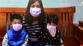 台商家人帶著孩子們喊話「謝謝,阿中部長」。(圖/翻攝自YouTube)