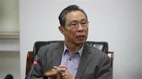 「抗SARS專家」中國工程院院士鍾南山(圖/翻攝自中新網)