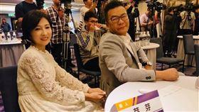 沈玉琳、老婆芽芽 圖/翻攝自臉書
