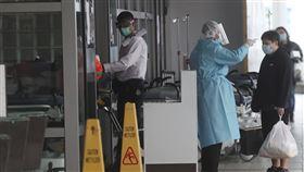 香港瑪嘉烈醫院,Princess Margaret Hospital。(圖/美聯社/達志影像)