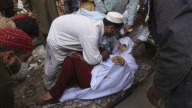 巴基斯坦,毒氣,有毒氣體 ▲圖/美聯社/達志影像