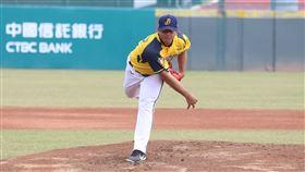 ▲中信兄弟投手黃恩賜春訓練習賽登板。(圖/中信兄弟球團提供)