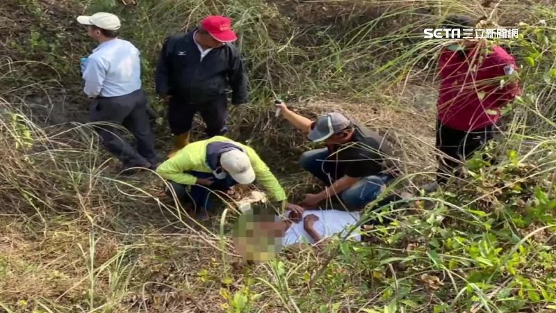 8旬翁摔河床坑找嘸人 空拍機急救援
