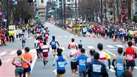 日本東京馬拉松 圖翻攝自Tokyo Marathon Foundation推特