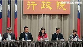 行政院,行政院會後記者會,由Kolas Yotaka發言人主持。(圖/記者盧素梅攝)