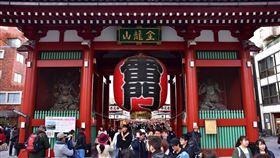 日本,東京,淺草寺,雷門,圖/翻攝自Pixabay