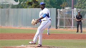 ▲富邦悍將多明尼加投手Henry Sosa(索沙)春訓休息4天先發。(圖/富邦悍將球團提供)