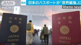 日本護照,護照,日本人不愛出國(圖/翻攝自ANNnewsCH YouTube)