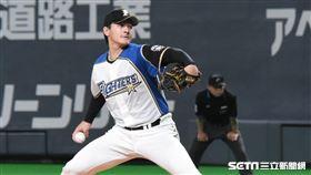 日本火腿王牌投手有原航平。(資料圖/記者王怡翔攝影)